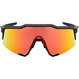 100% Speedcraft HD Multilayer/Hiper Glasses Tall soft tact black/red